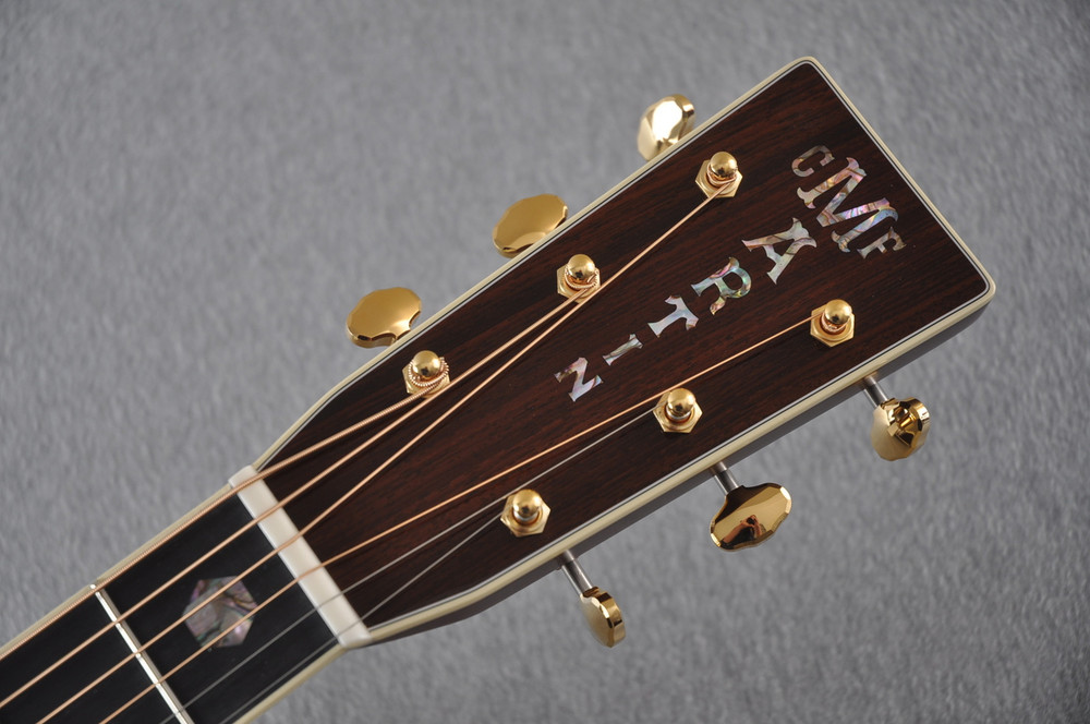 Martin D-41 (2018) Standard Acoustic Guitar #2230729 - Headstock