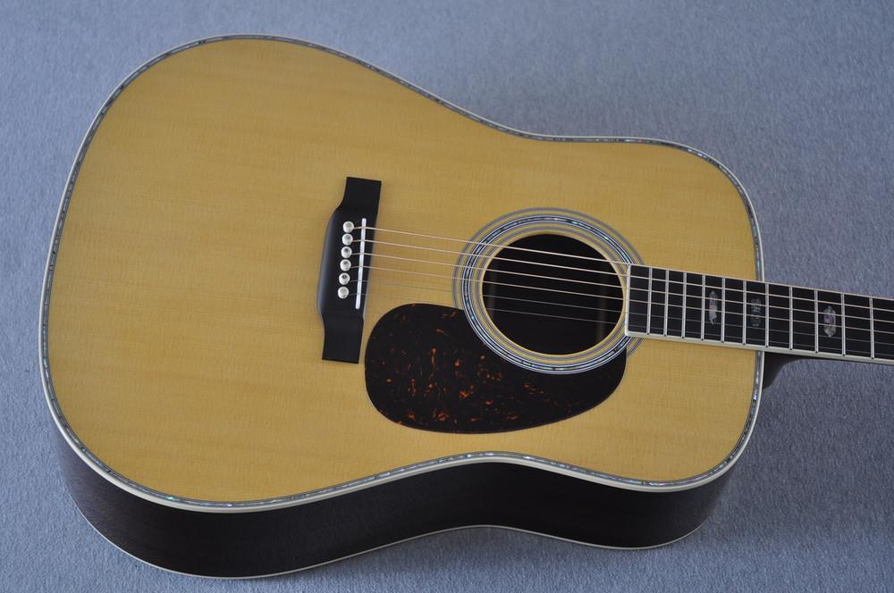 Martin D-41 (2018) Standard Acoustic Guitar #2230729 - Top
