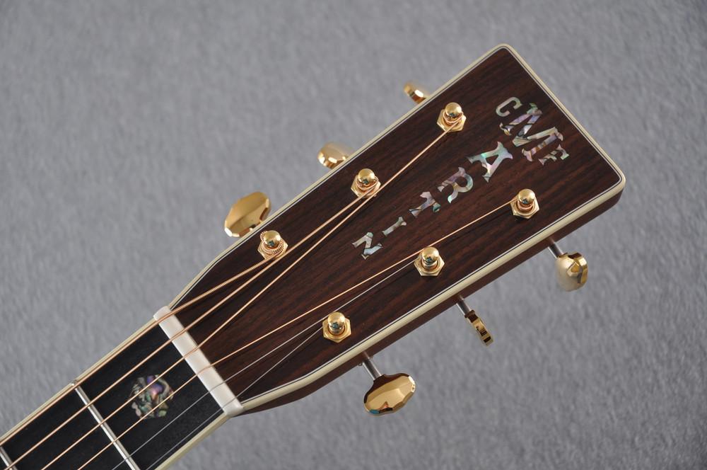 Martin D-41 Ambertone Standard Acoustic Guitar #2241863 - Headstock