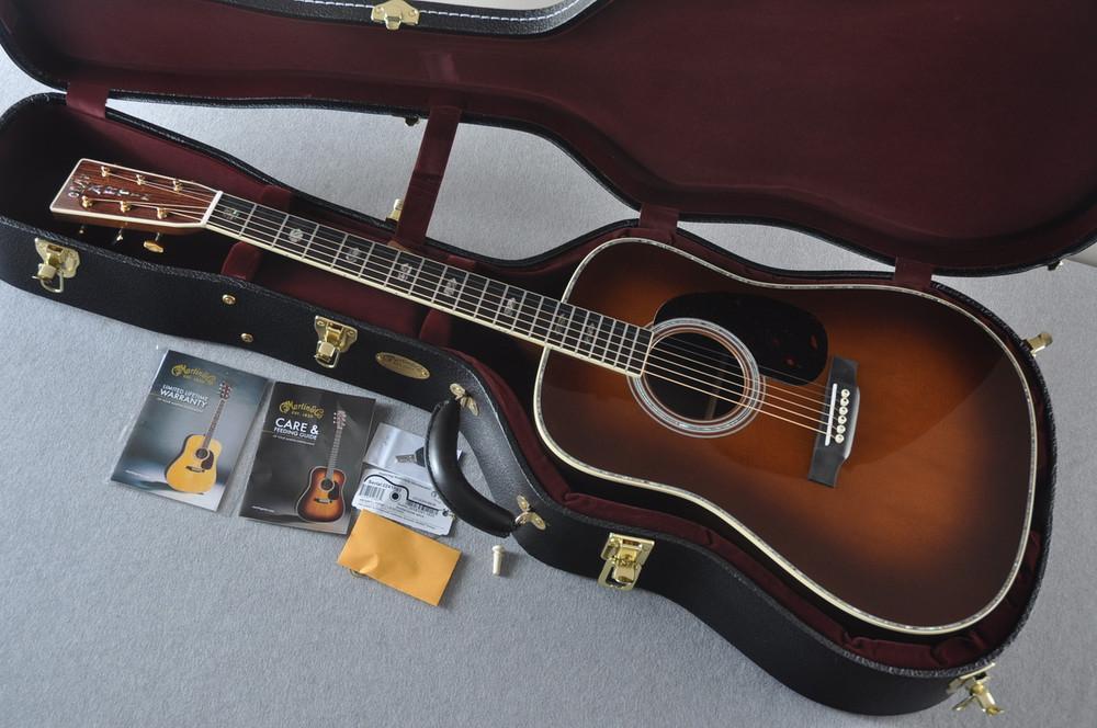 Martin D-41 Ambertone Standard Acoustic Guitar #2241863 - Case