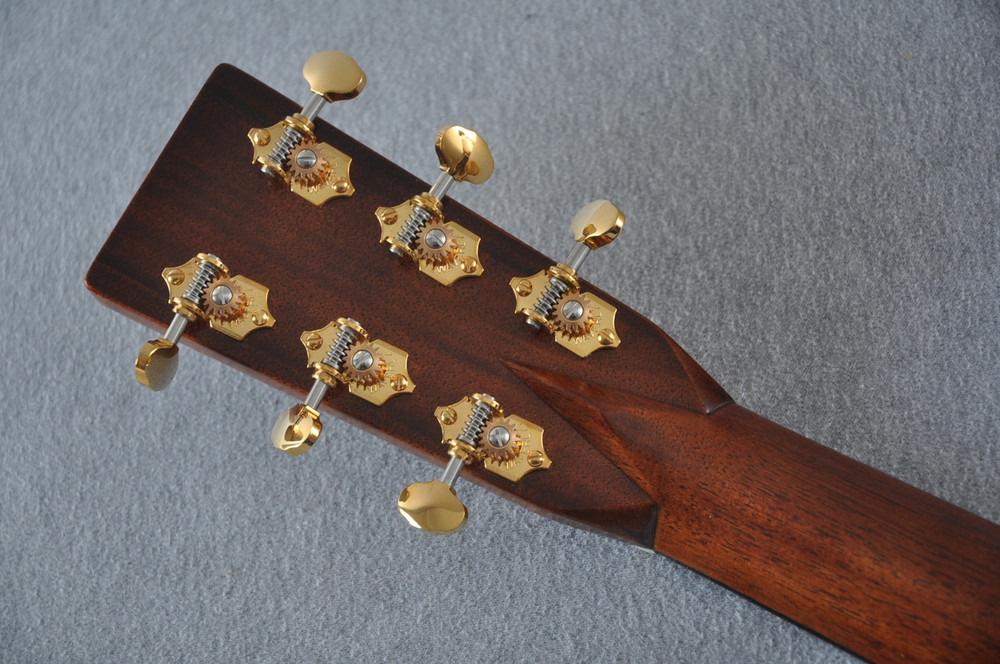 Martin D-28 Modern Deluxe Acoustic Guitar #2247801 - Back Headstock