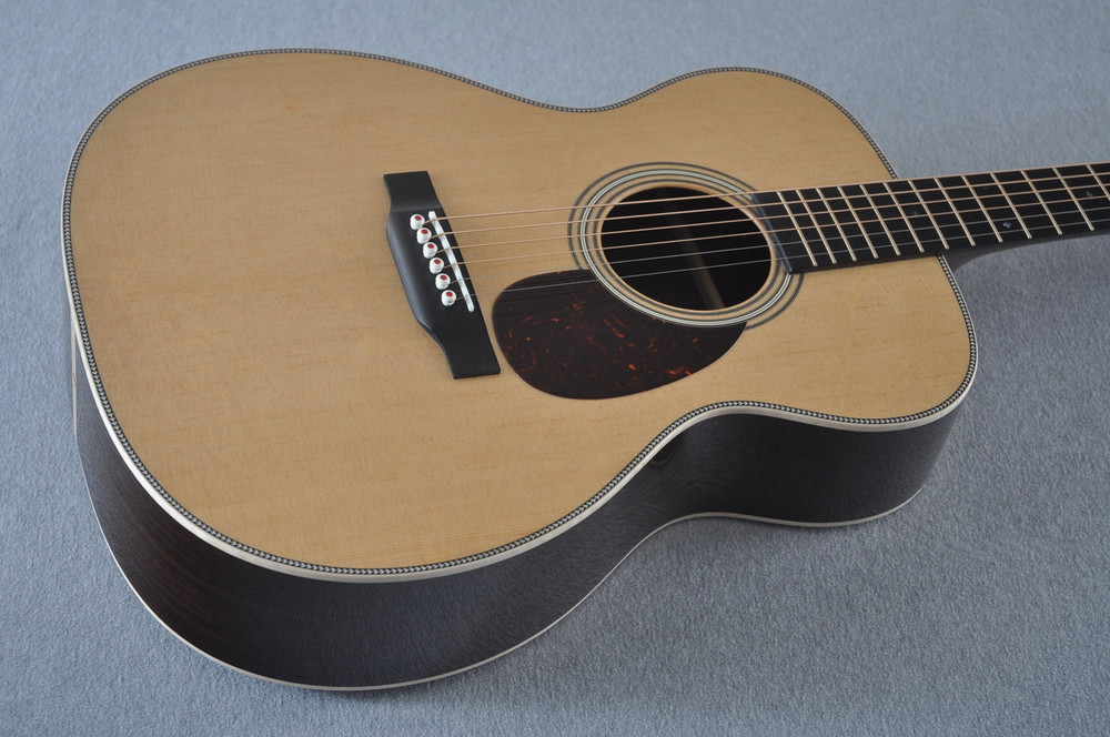 Martin OM-28 Modern Deluxe Acoustic Guitar #2246100 - Beauty