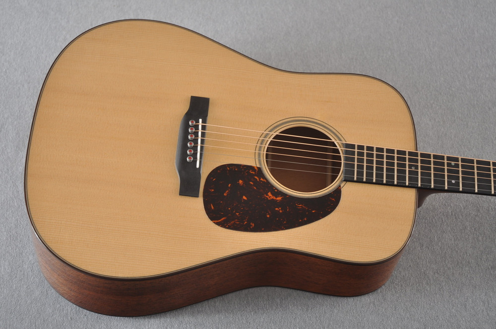 Martin D-18 Modern Deluxe Acoustic Guitar #2266078 - Top