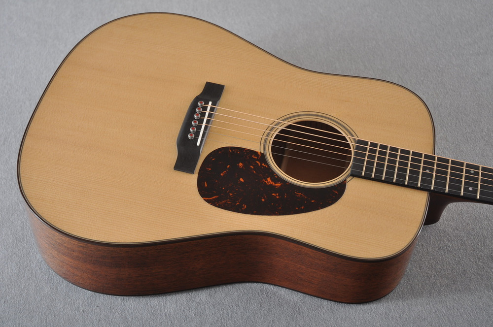 Martin D-18 Modern Deluxe Acoustic Guitar #2266078 - Top Angle