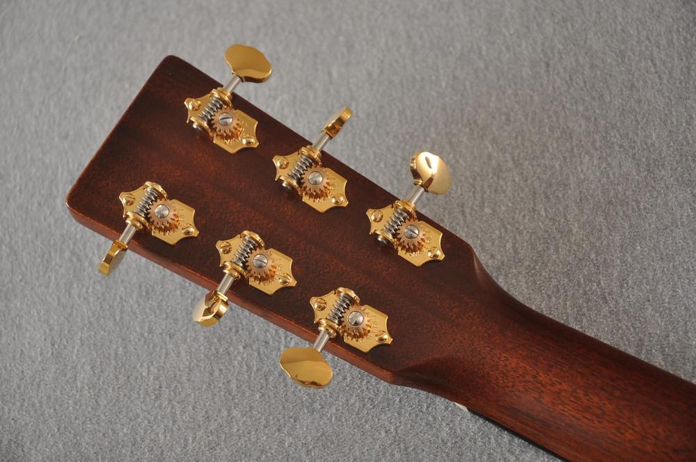 Martin D-18 Modern Deluxe Acoustic Guitar #2266078 - Back Headstock