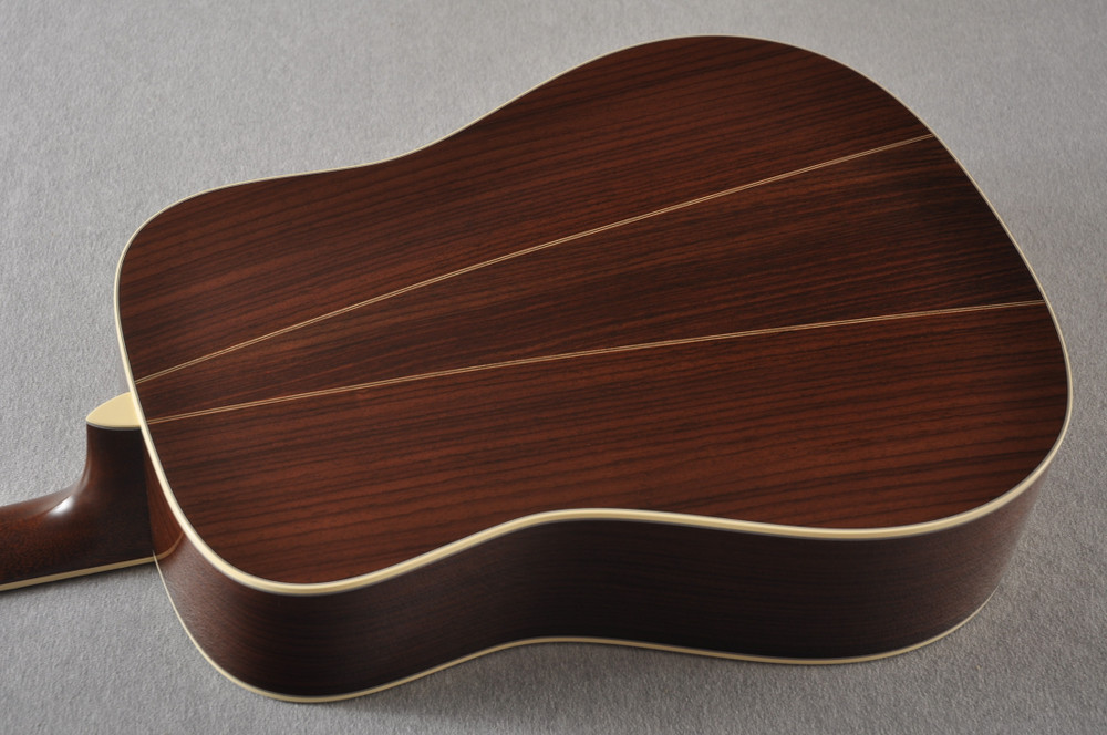 Martin D-35 Woodstock 50th Anniversary Acoustic Guitar #2267961 - Back Angle