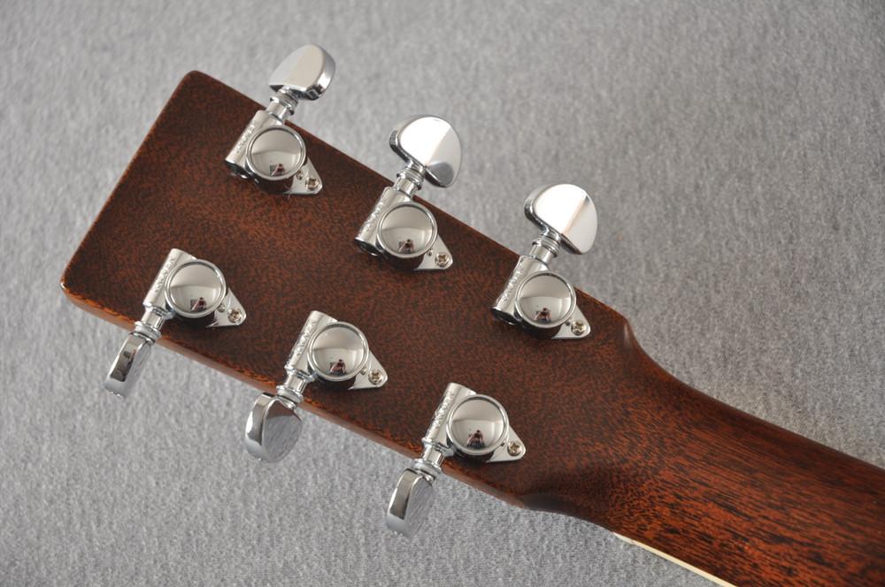 Martin D-35 Woodstock 50th Anniversary Acoustic Guitar #2267961 - Back Headstock