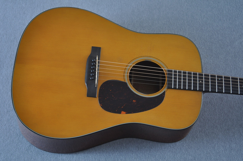 Martin D-18 Authentic 1939 VTS Aged Acoustic Guitar #2233931 - Top