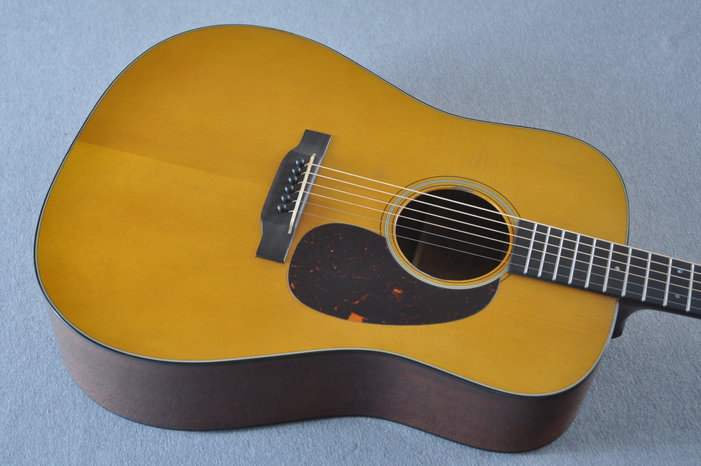 Martin D-18 Authentic 1939 VTS Aged Acoustic Guitar #2233931 - Top Angle
