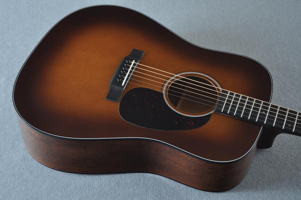 Martin D-18 Standard Ambertone Acoustic Guitar #2243439 - Top Angle