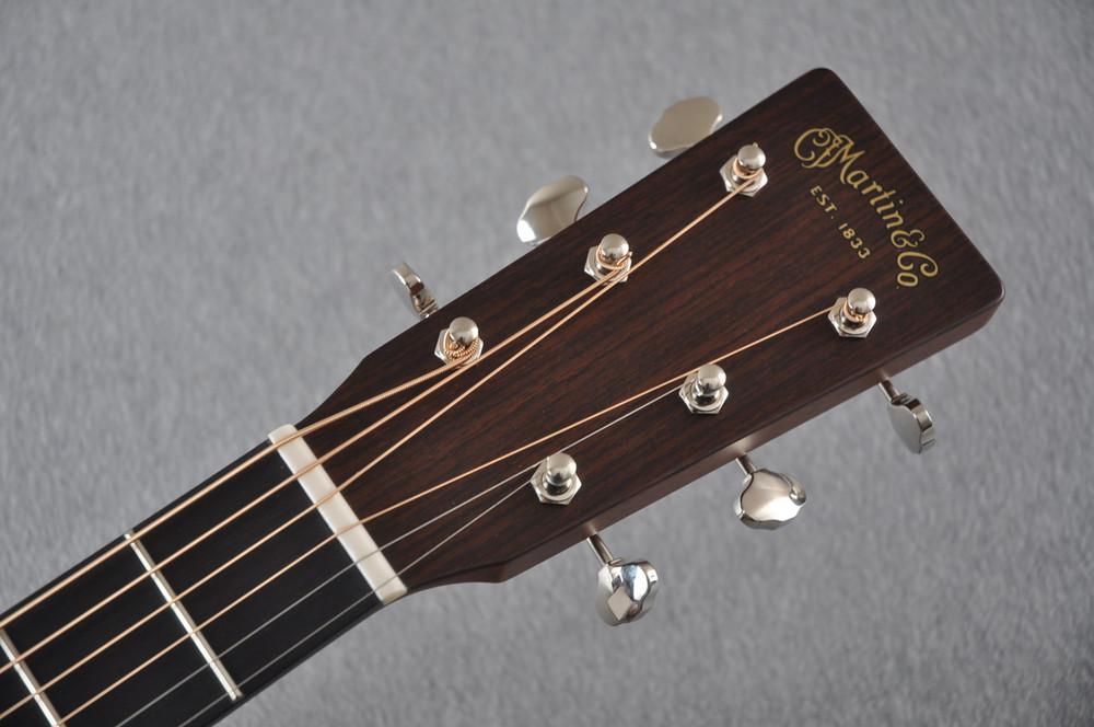 Martin D-18 Standard Ambertone Acoustic Guitar #2243516 - Headstock