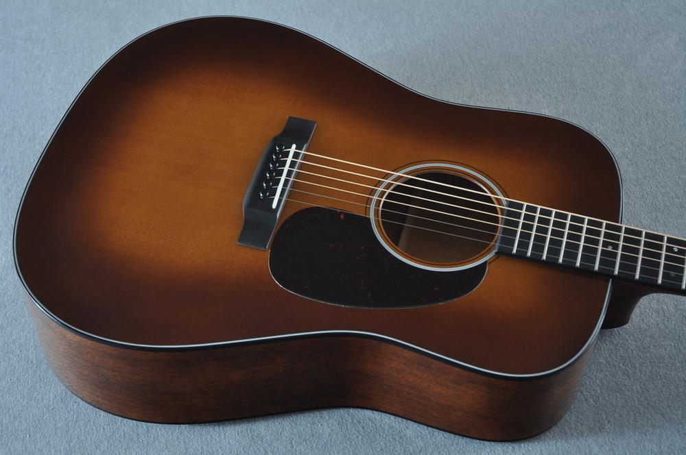 Martin D-18 Standard Ambertone Acoustic Guitar #2243516 - Top Angle