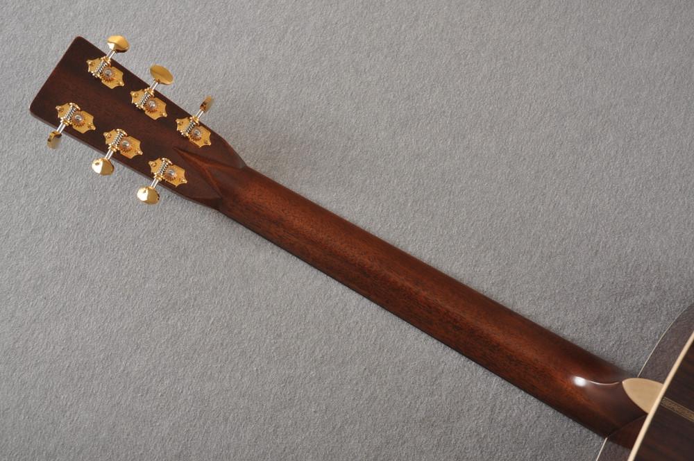 Martin D-28 Modern Deluxe Acoustic Guitar #2282383 - Back Neck