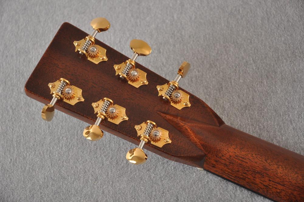 Martin D-28 Modern Deluxe Acoustic Guitar #2282383 - Back Headstock