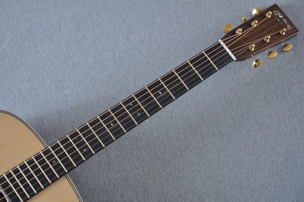 Martin D-28 Modern Deluxe Acoustic Guitar #2247802 - Neck