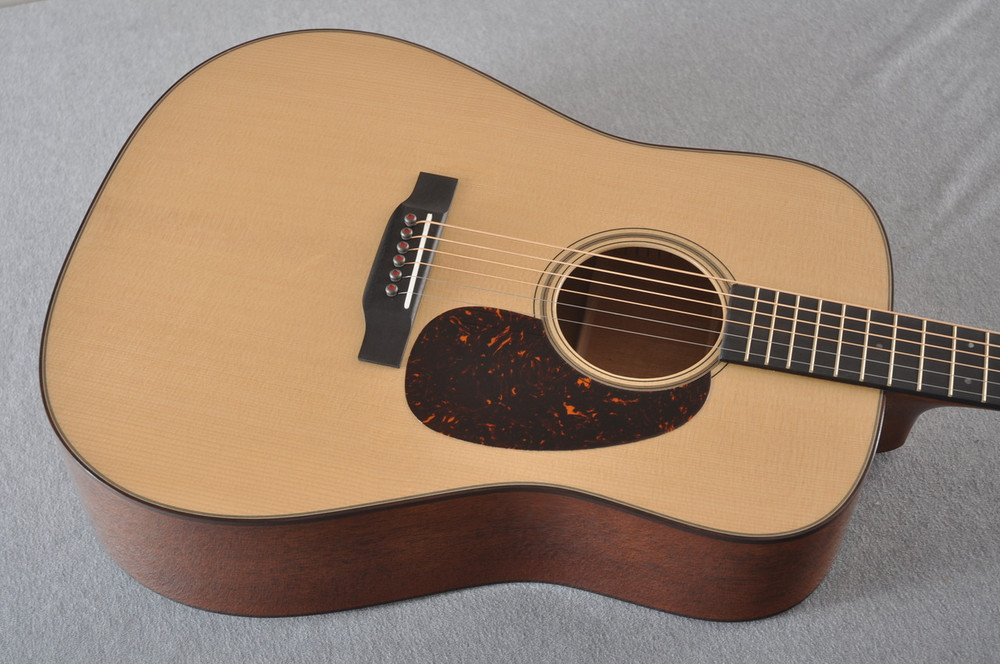 Martin D-18 Modern Deluxe Acoustic Guitar #2263024 - Top Angle