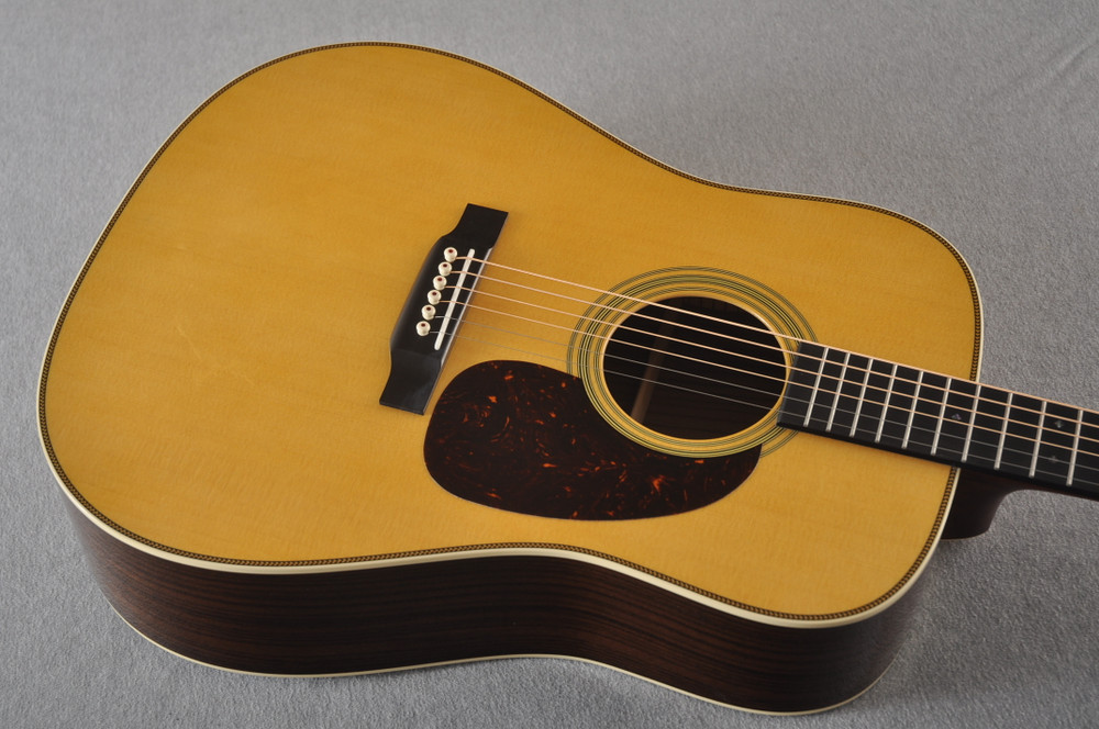 Martin HD-28 Dreadnought Acoustic Guitar #2351539 - Top Angle