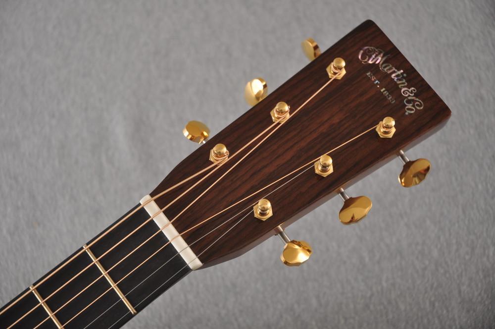 Martin OM-28E Modern Deluxe Fishman Electric Guitar #2345324 - Headstock