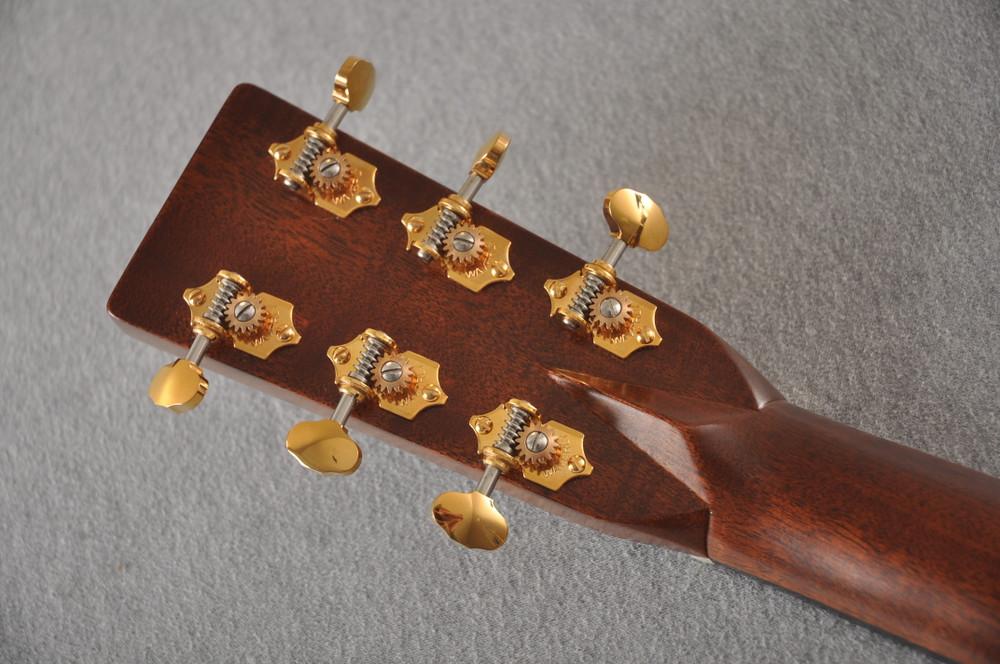 Martin OM-28E Modern Deluxe Fishman Electric Guitar #2345324 - Back Headstock