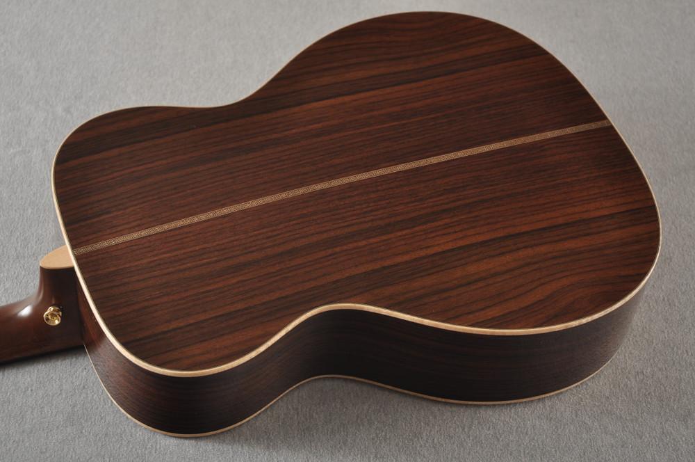 Martin OM-28E Modern Deluxe Fishman Electric Guitar #2345324 - Back Angle