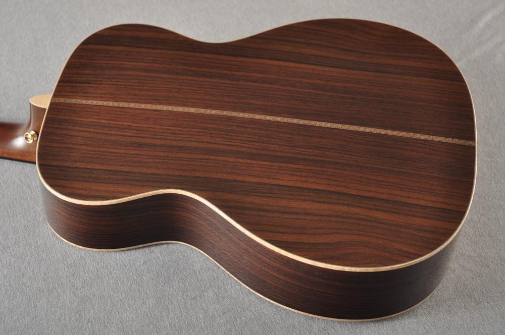Martin OM-28E Modern Deluxe Fishman Electric Guitar #2345324 - Back