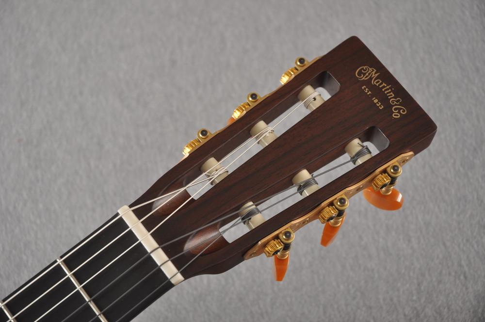 Martin 000C12-16E Nylon Guitar #2353901 - Headstock