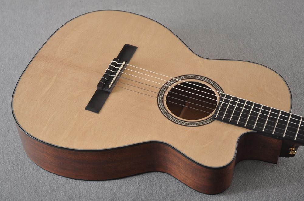 Martin 000C12-16E Nylon Guitar #2353901 - Top Angle