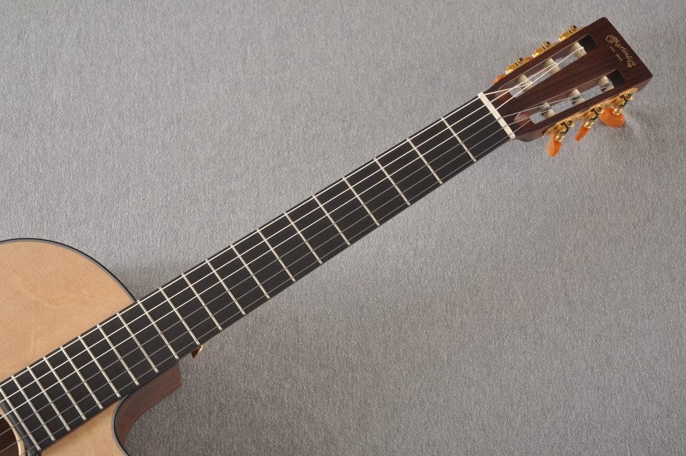 Martin 000C12-16E Nylon Guitar #2353901 - Neck