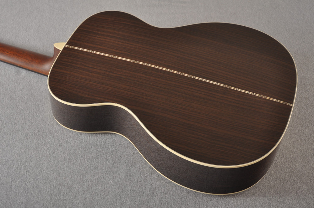 Martin 000-28 Acoustic Guitar #2345434 - Back Angle