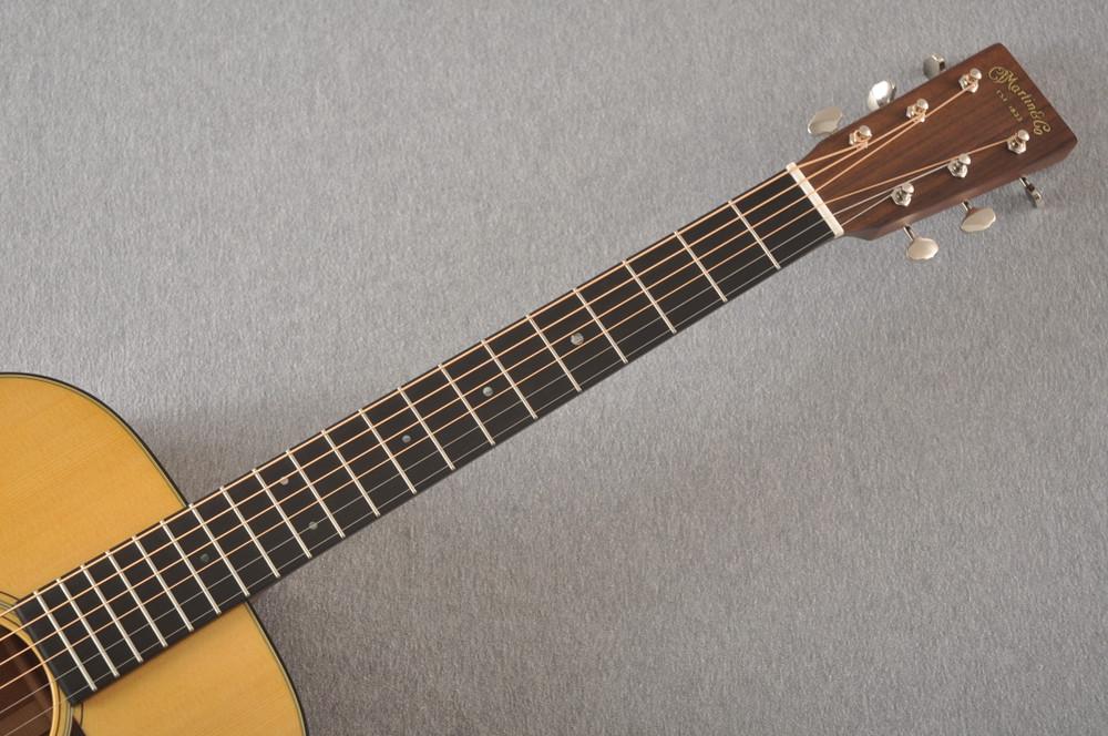 Martin 000-18 Standard Acoustic Guitar #2356514 - Neck