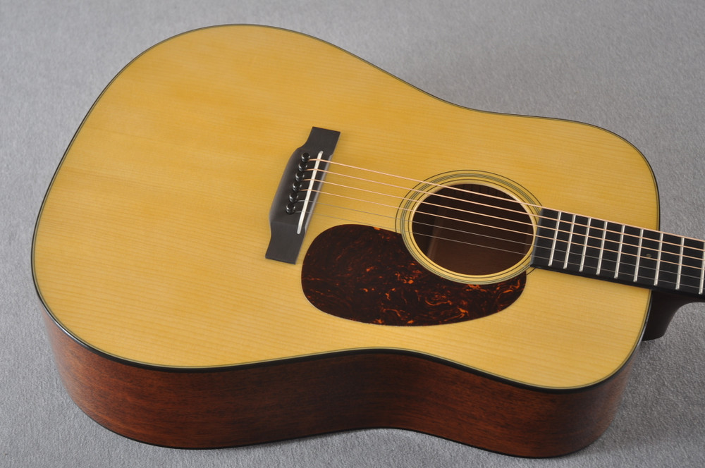 Martin Custom Dread Style 18 GE Adirondack Modified V #2360915 - Top Angle