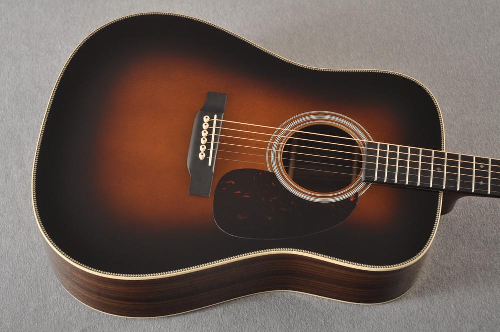 Martin Custom HD Adirondack Style 28 Sunburst #236092 - Top