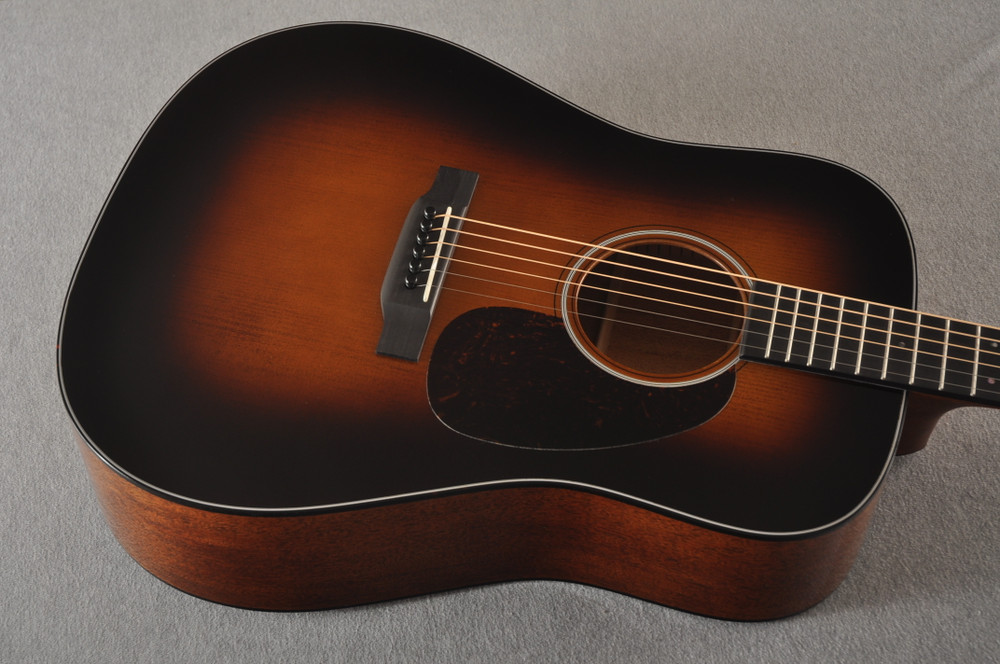 Martin Custom D Style 18 GE Adirondack Waverly #2360914 - Top Angle