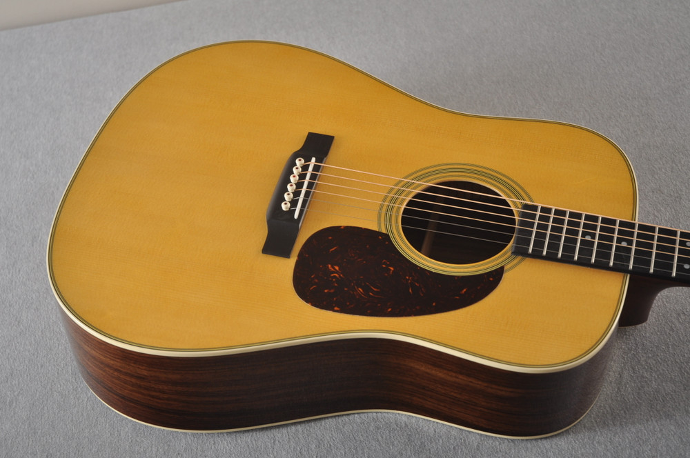 D-28 Standard Dreadnought Acoustic Guitar #2351560 - Top Angle