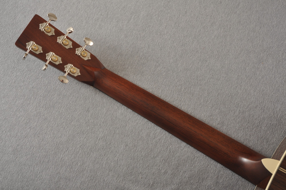 D-28 Standard Dreadnought Acoustic Guitar #2351560 - Back Neck