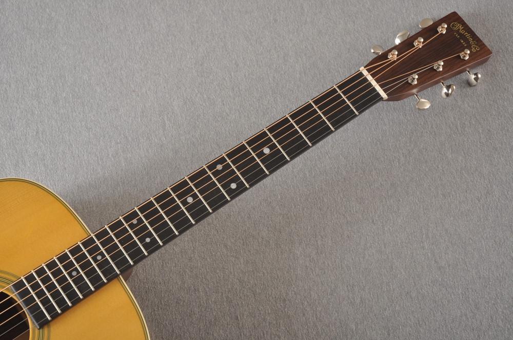 D-28 Standard Dreadnought Acoustic Guitar #2351560 - Neck