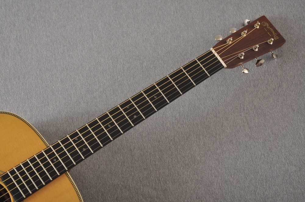 Used Martin HD-28 Dreadnought Acoustic Guitar #2251978 - Neck