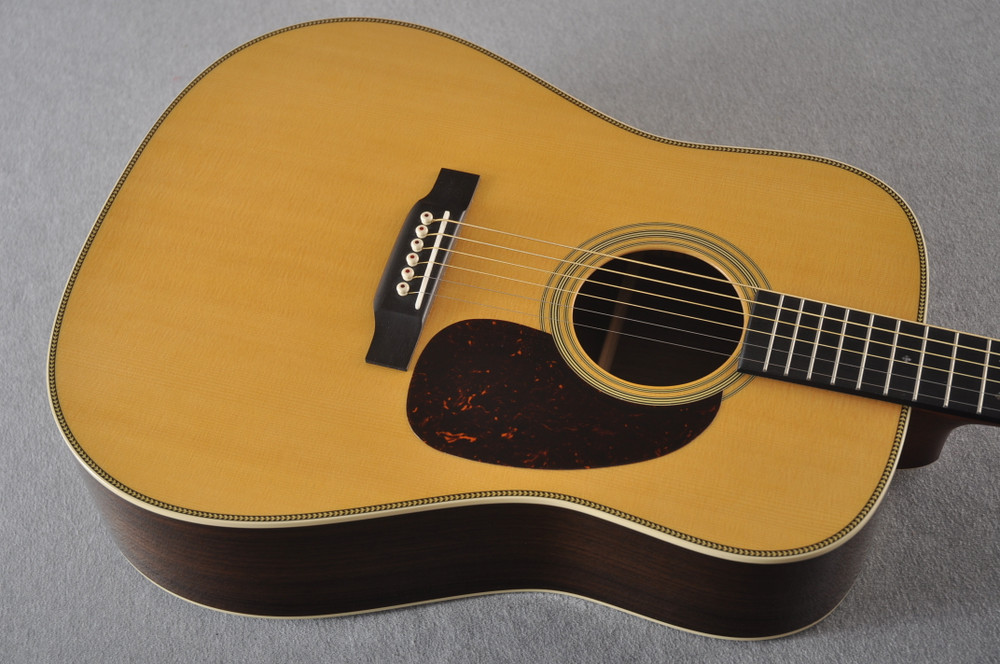 Used Martin HD-28 Dreadnought Acoustic Guitar #2251978 - Top Angle