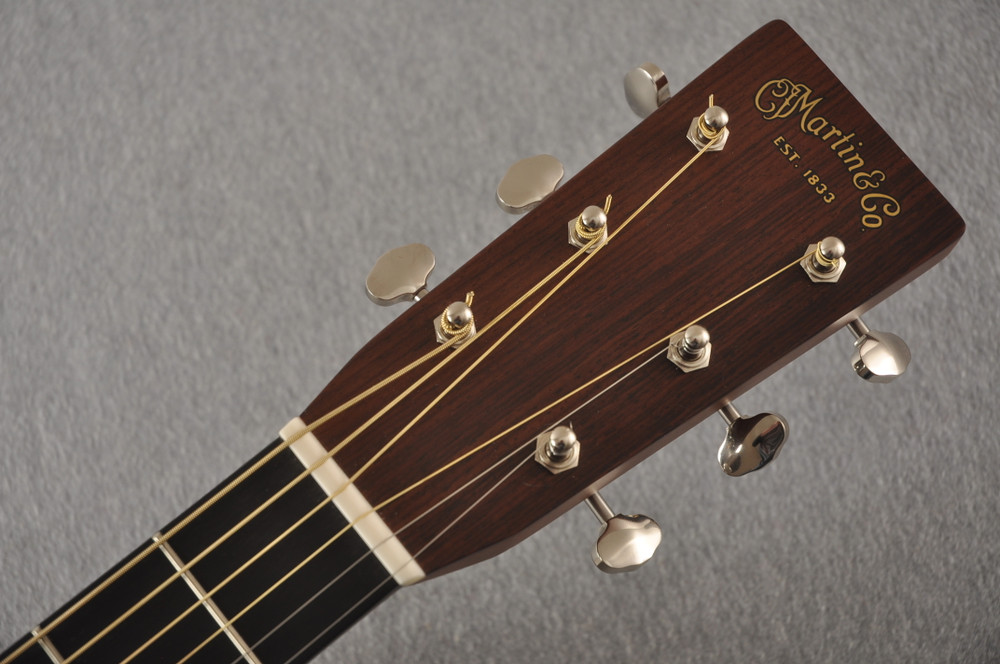 Used Martin HD-28 Dreadnought Acoustic Guitar #2251978 - Headstock