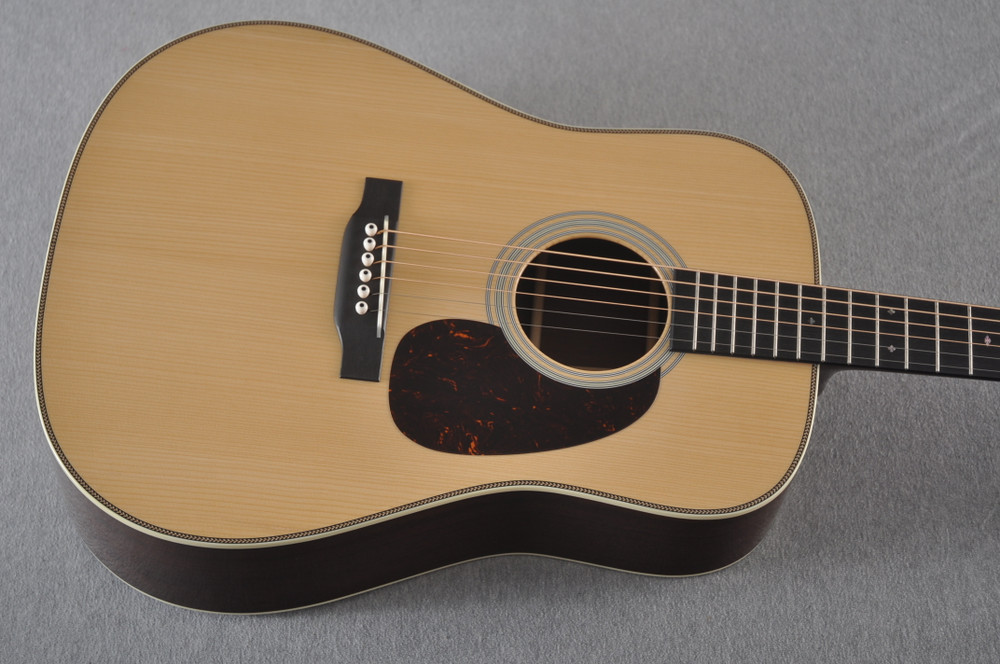 Martin D-28 Authentic 1937 VTS Dreadnought Guitar #2349971 - Top