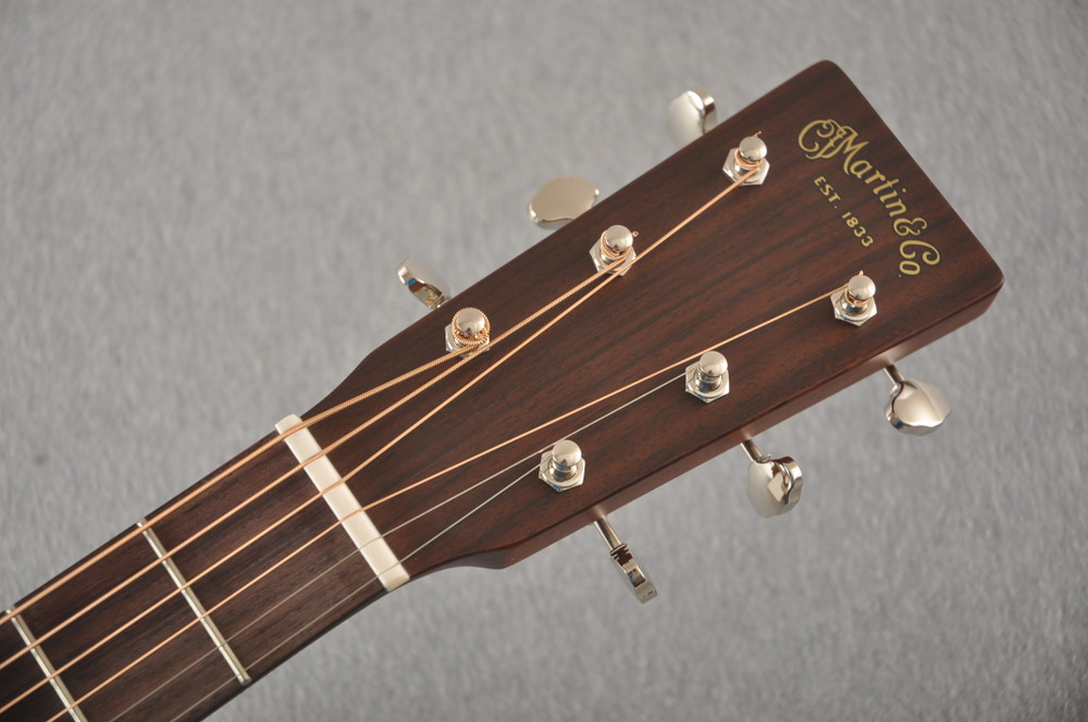 Martin D-18E 2020 Limited Edition D-18 Electric #2367795 - Headstock