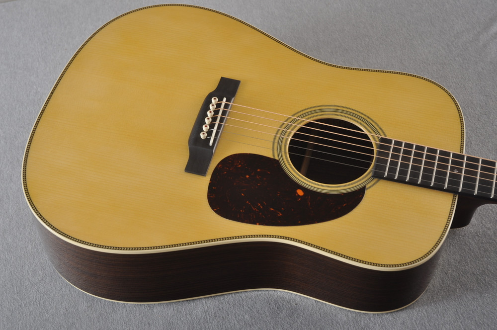 Martin Custom HD Style 28 Adirondack Dreadnought #2371543 - Top Angle
