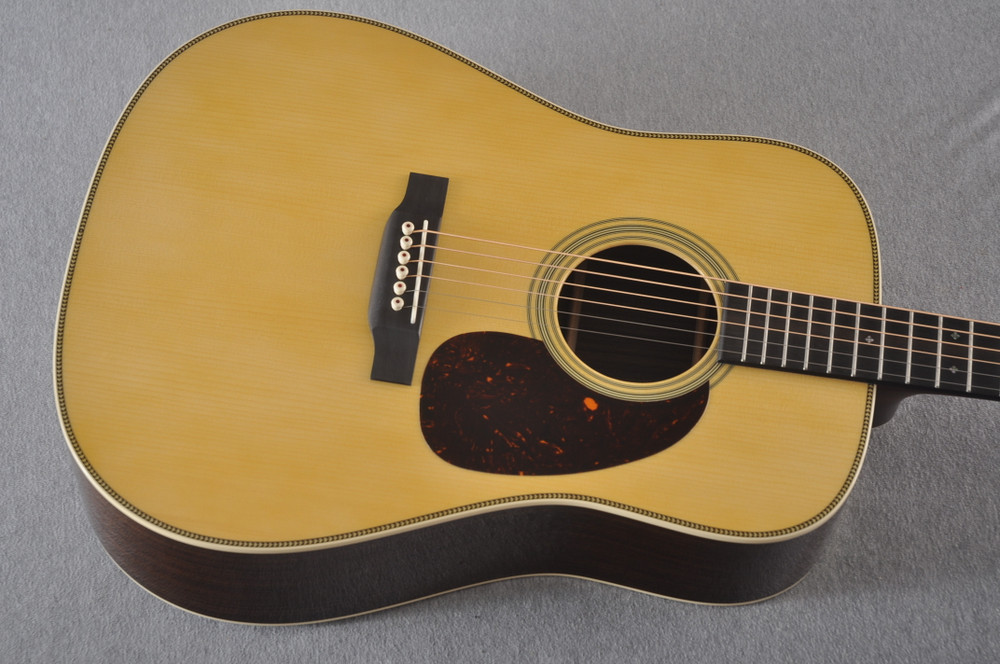 Martin Custom HD Style 28 Adirondack Dreadnought #2371543 - Top