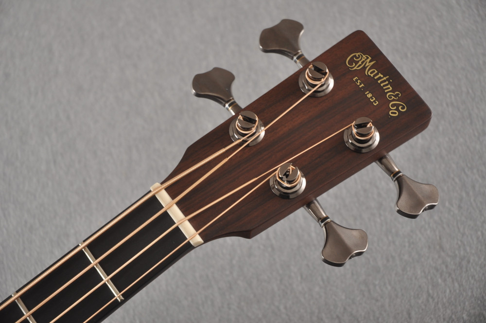 Martin BC-16E RW Acoustic Bass Guitar Sitka Indian #2373685 - Headstock