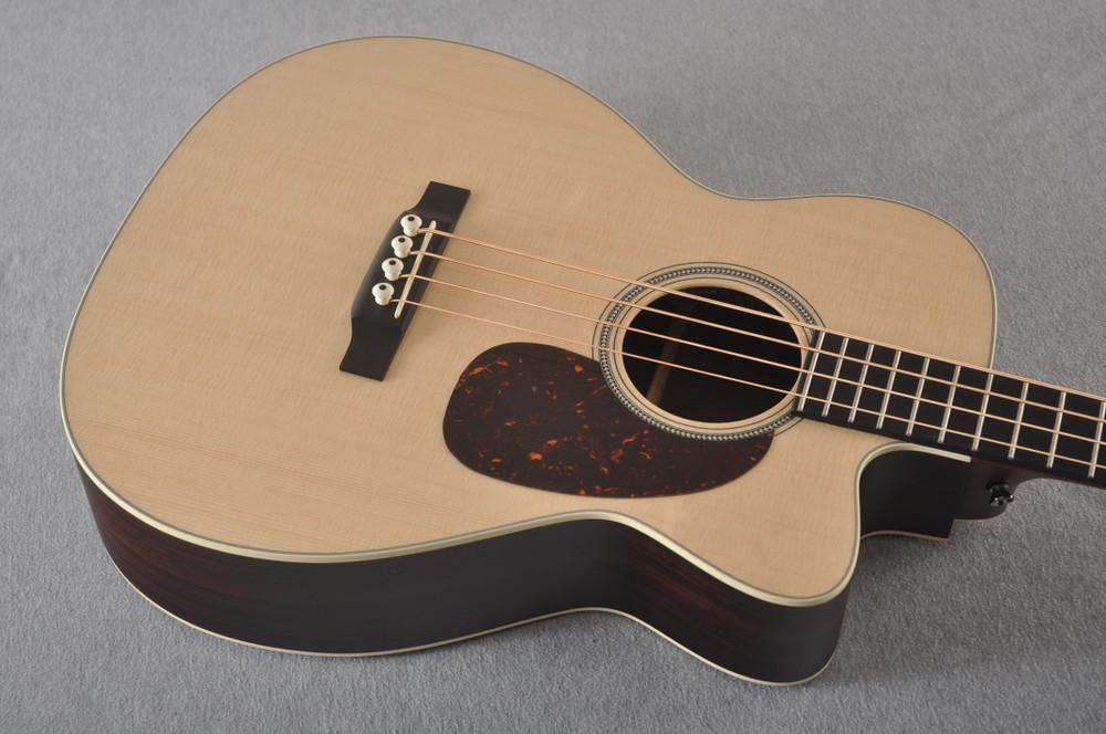 Martin BC-16E RW Acoustic Bass Guitar Sitka Indian #2373685 - Top Angle