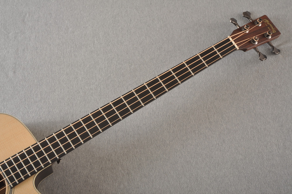 Martin BC-16E RW Acoustic Bass Guitar Sitka Indian #2373685 - Neck