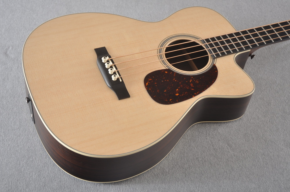 Martin BC-16E RW Acoustic Bass Guitar Sitka Indian #2373685 - Beauty