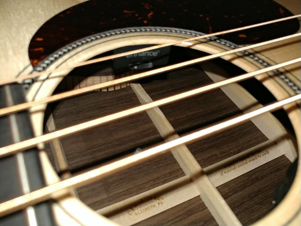 Martin BC-16E RW Acoustic Bass Guitar Sitka Indian #2373685 - Pickup control