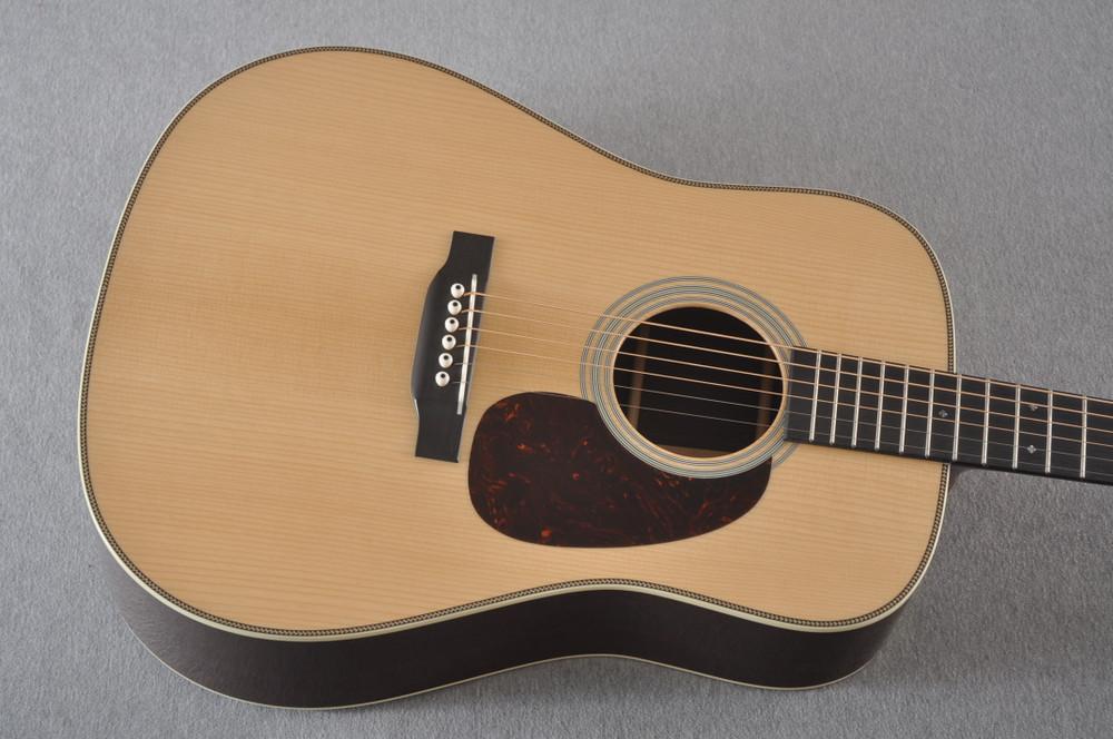 Martin D-28 Authentic 1937 VTS Dreadnought Guitar #2358758 - Top