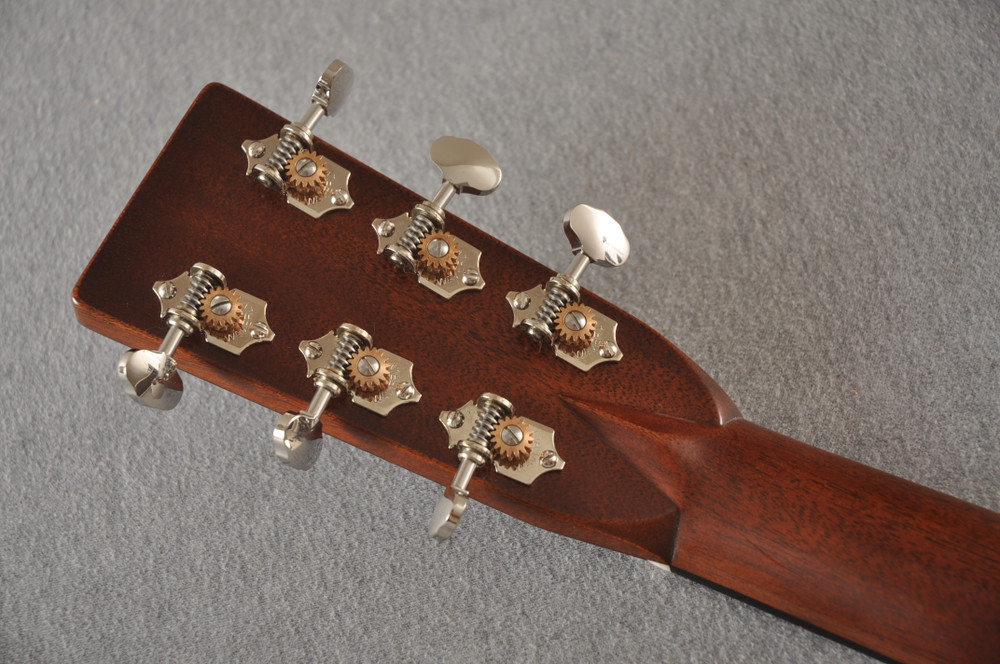 Martin D-28 Authentic 1937 VTS Dreadnought Guitar #2358758 - Back Headstock